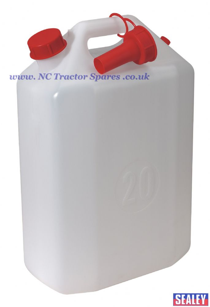 Water Container 20ltr with Spout